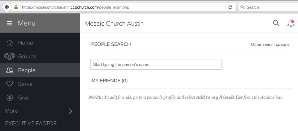 CCB People Search